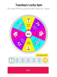 Spin and Earn Paytm cash