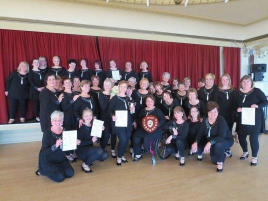 Spinnaker Chorus wins triplet at BMCF