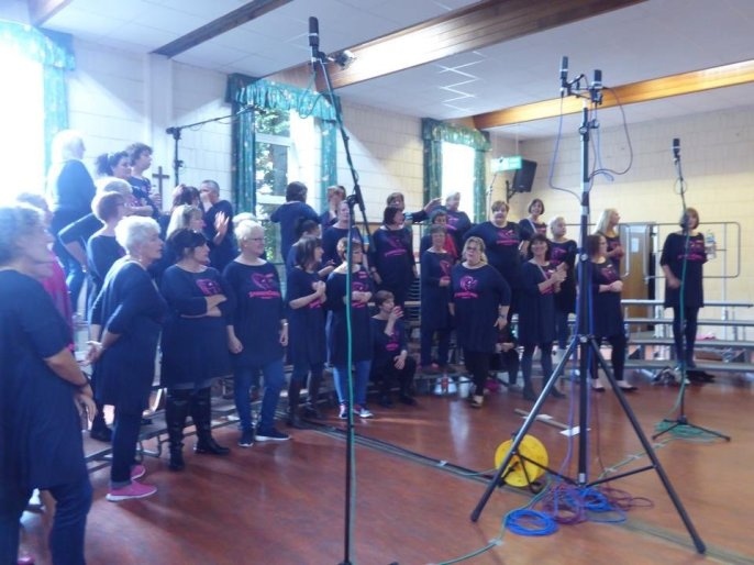 Spinnaker Chorus Recording Debut CD