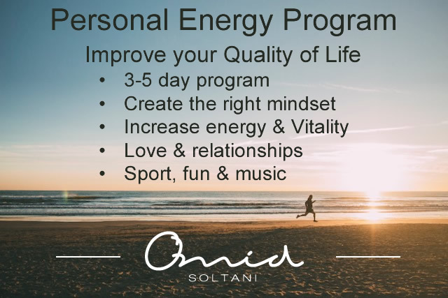 Personal Energy Training by Omid Soltani