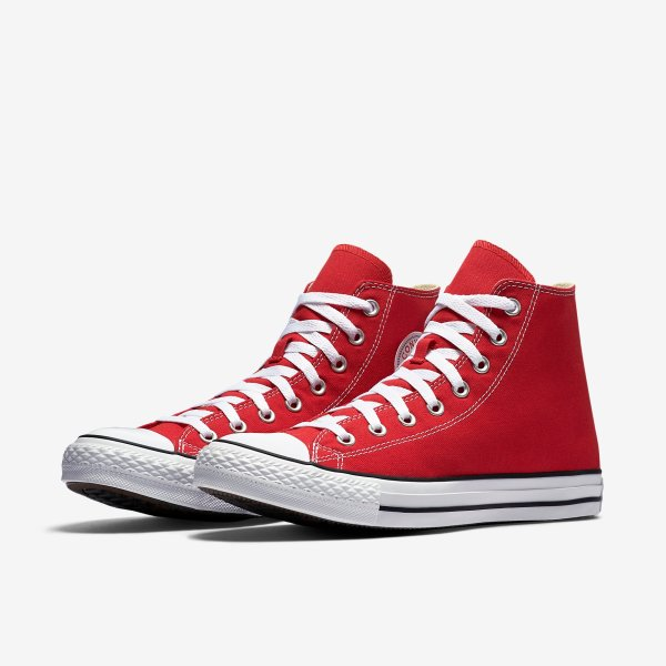 Converse Chuck Taylor All Star High Top Red - Spinners Sports