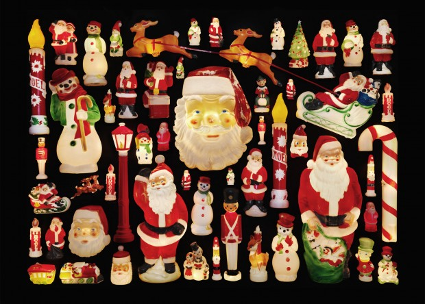 Plastic Christmas Collection by Jim Golden