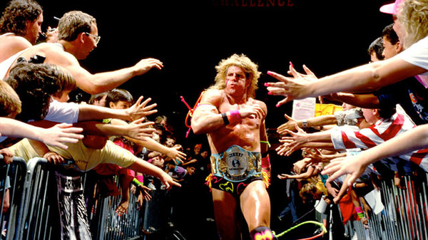 The Ultimate Warrior Running Ring Entrance