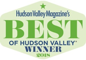 Best Of Hudson Valley Winner!