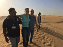wheelchair accessible desert safari orient tours dubai