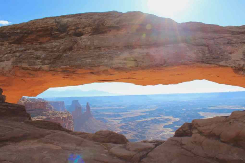 arch at canyonlands