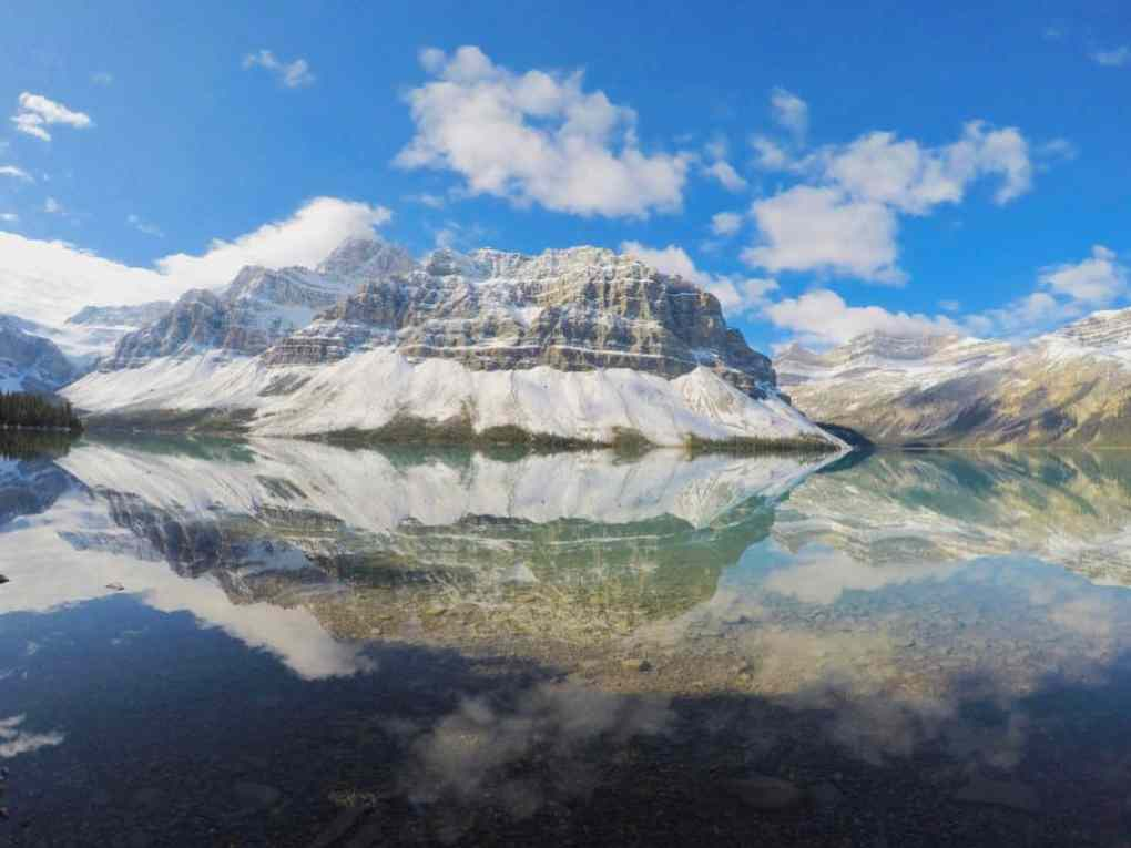Bow Lake in Icefields Parkway Area