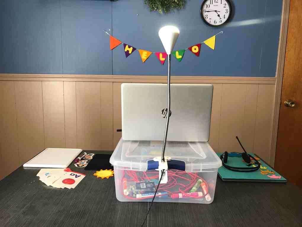VIP KID online classroom setup