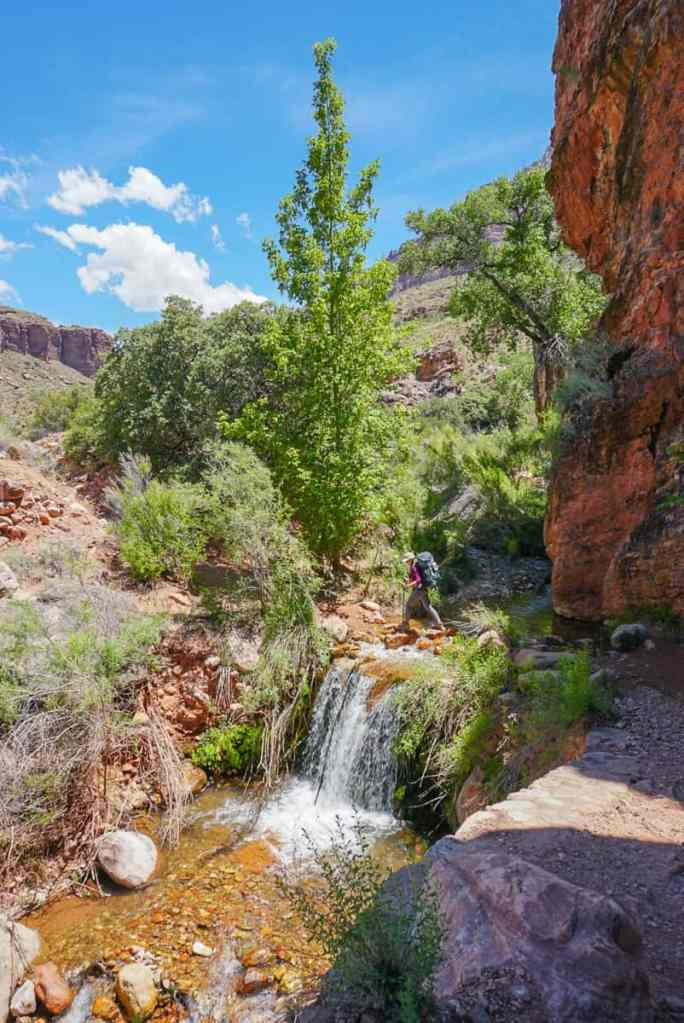 hiking the grand canyon from rim to rim