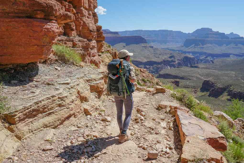 hiking south kaibab trail