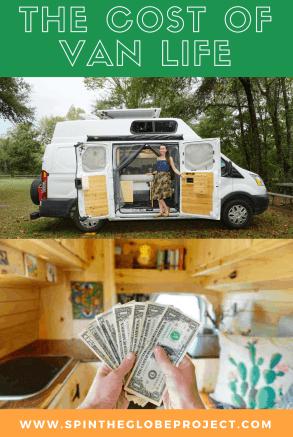 the cost of van life
