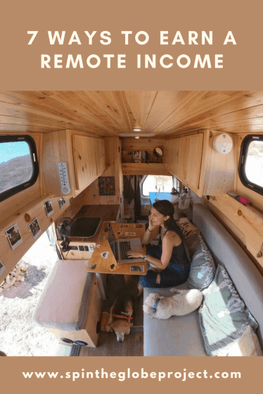 7 ways to earn a remote income