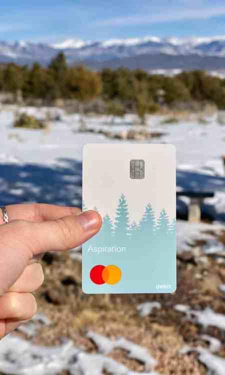 ethical banking aspiration card