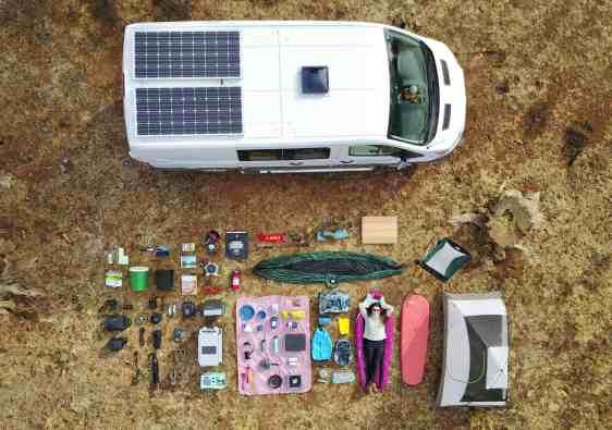 essential van life items