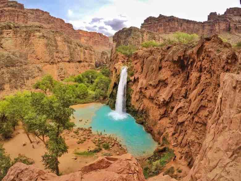 Havasu Falls in Arizona is top 10on my travel bucket list
