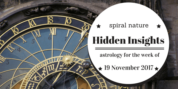 Hidden Insights: Astrology for the week of 19 November 2017