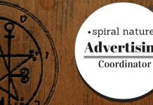Spiral Nature Advertising Coordinator