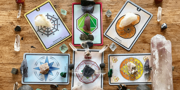 Believe Grid with the Sacred Geometry Healing Cards