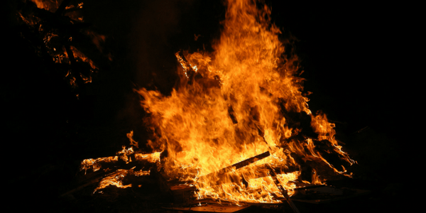 Bonfire, photo by Tim Difford