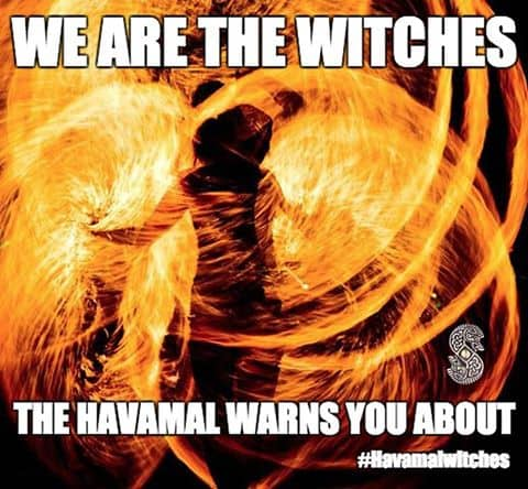 Havamal Witches The Svinfylking
