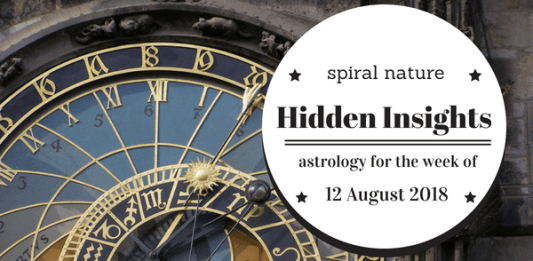 Hidden Insights: Astrology for the week of 12 August 2018