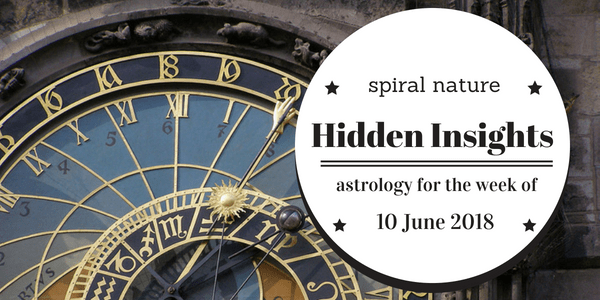 Hidden Insights: Astrology for the week of 10 June 2018