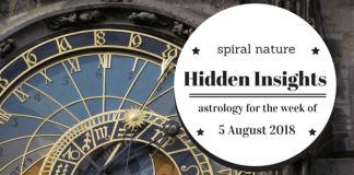 Hidden Insights: Astrology for the week of 5 August 2018