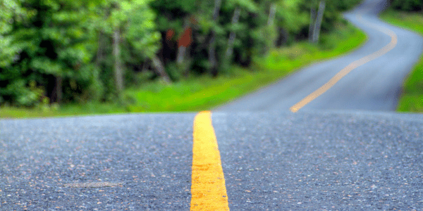 Road dividing line, photo by Geee Kay