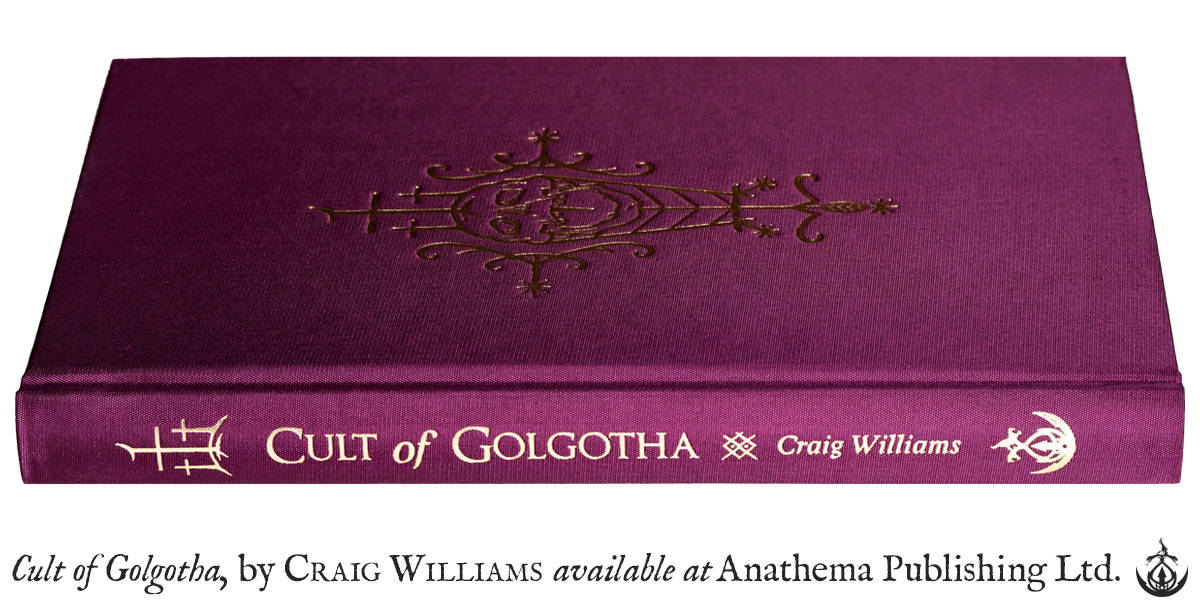Anathema Publishing - Cult of Golgotha (purple)
