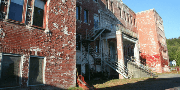 St. Michael's Indian Residential School, Alert Bay, photo by Erin Brown-John