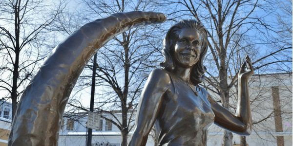 Statue of Samantha Stevens, photo by Massachusetts Office of Travel and Tourism