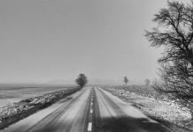 Winter road, photo by Pavel P.