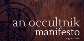 An occultnik manifesto
