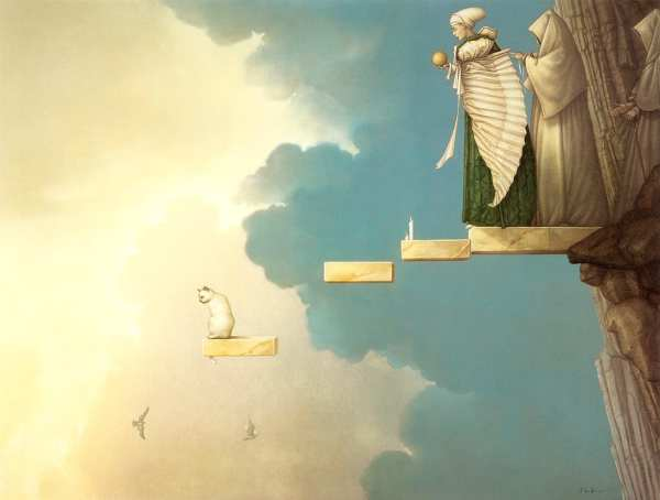 Ceremony of the Sun, by Michael Parkes