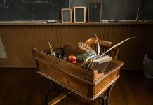 Desk, photo by Todd Petrie