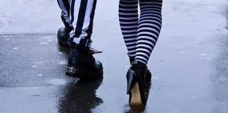 Goth legs, by Bryan Ledgard