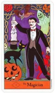 Halloween Tarot, the Magician
