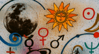 The language of astrology, image by jimmymac2010