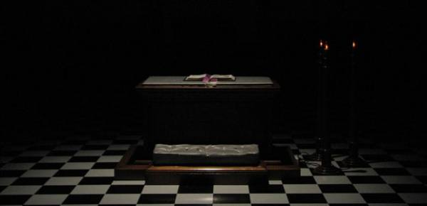 Masonic altar, photo by Bill Bradford