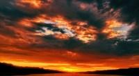 Red Sky, photo by DinosaursAreNotDead