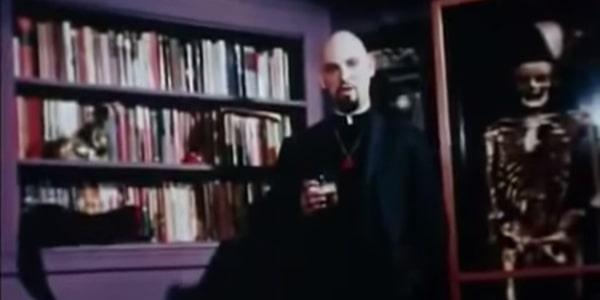 Anton LaVey, still from Satanis
