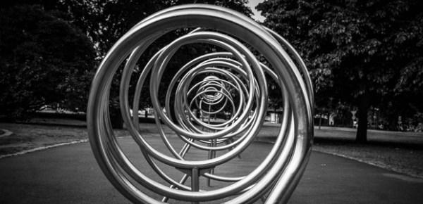 Spiral circles, photo by Susanne Nilsson