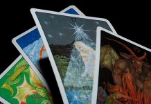 Tarot, photo by Derek Gavey