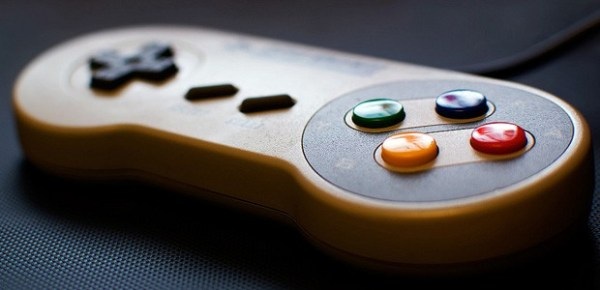 Video game controller, image by dgoomany