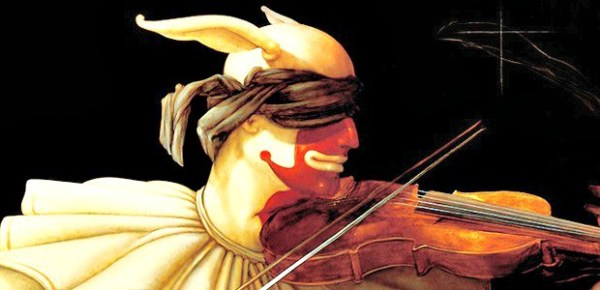 Detail from Water Music, by Michael Parkes