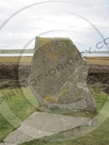 A stone from the Ring of Brodgar