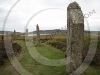 Picture of the Ring of Brodgar in Orkney