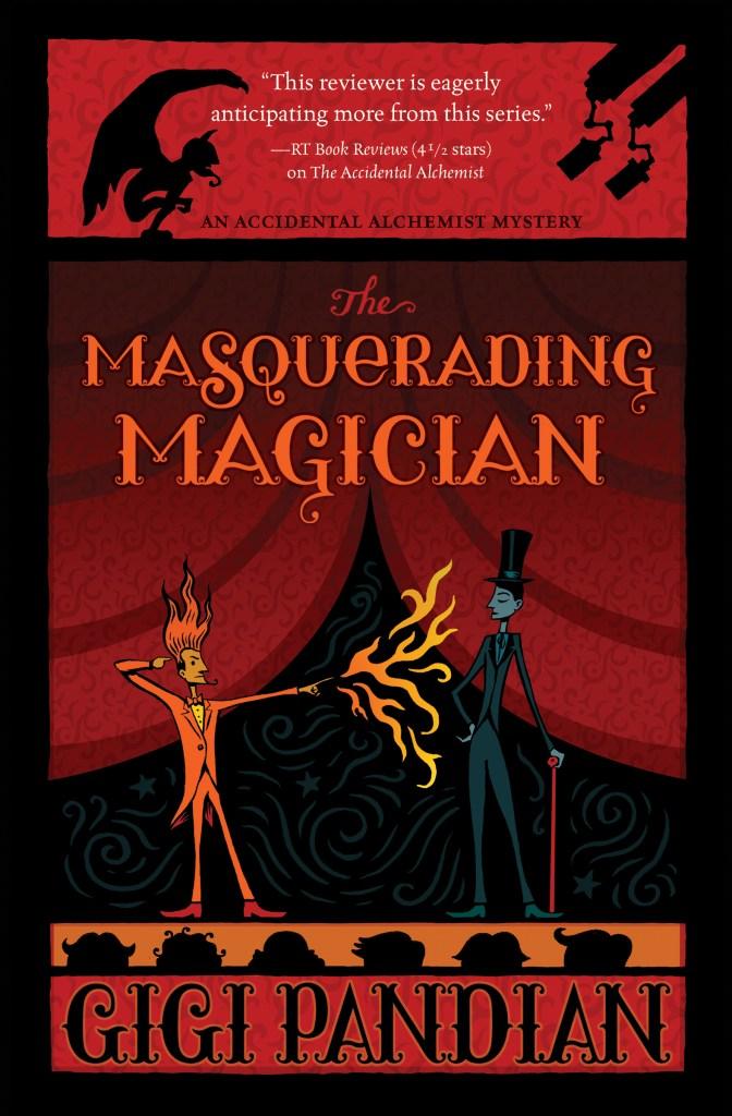 The Masquerading Magician by Gigi Pandian