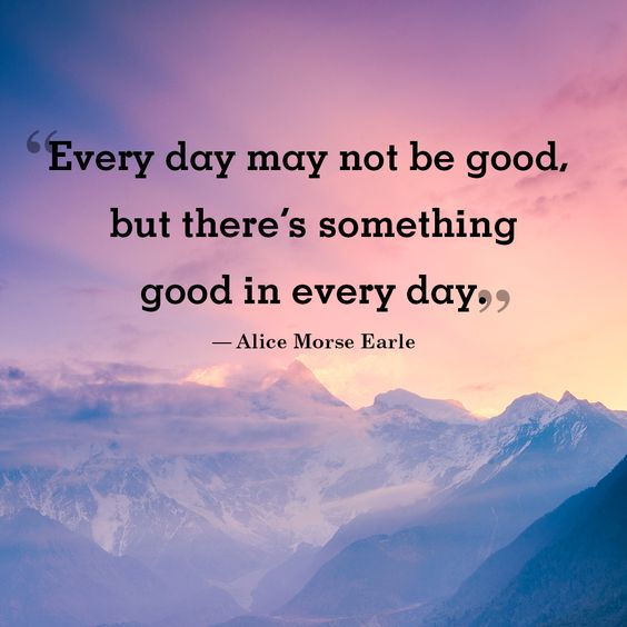 every day good morning
