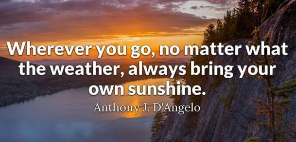 bring your sunshine good morning